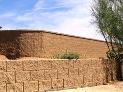 Retaining Wall at MH Trovia by Proto II Wall Systems